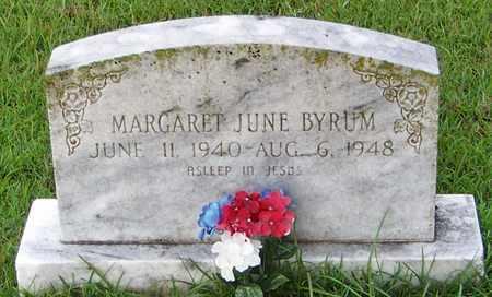 BYRUM, MARGARET JUNE - Pope County, Arkansas | MARGARET JUNE BYRUM - Arkansas Gravestone Photos