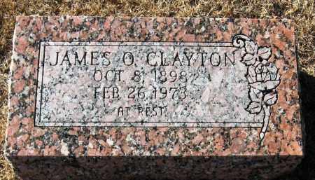 CLAYTON, JAMES O - Pope County, Arkansas   JAMES O CLAYTON - Arkansas Gravestone Photos