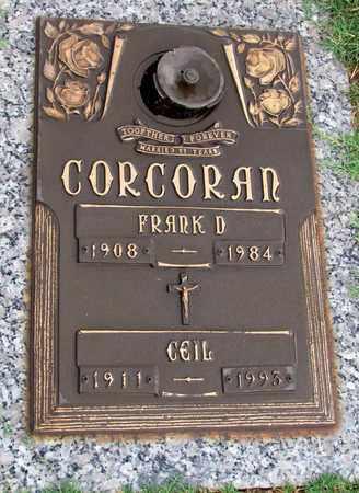 CORCORAN, CEIL - Pope County, Arkansas | CEIL CORCORAN - Arkansas Gravestone Photos