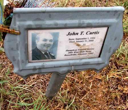 CURTIS, JOHN T - Pope County, Arkansas | JOHN T CURTIS - Arkansas Gravestone Photos
