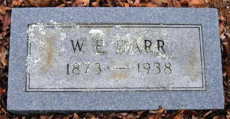 DARR, W E - Pope County, Arkansas   W E DARR - Arkansas Gravestone Photos