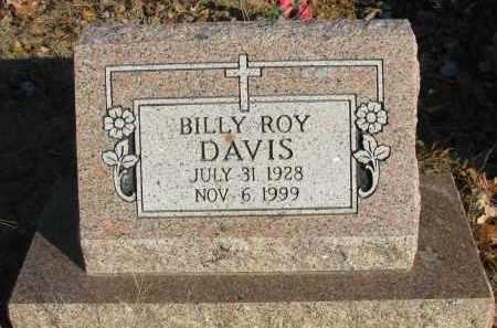 DAVIS, BILLY ROY - Pope County, Arkansas   BILLY ROY DAVIS - Arkansas Gravestone Photos