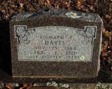 DAVIS, RICHARD E - Pope County, Arkansas | RICHARD E DAVIS - Arkansas Gravestone Photos