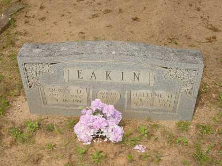 HOWARD EAKIN, HALLENE H. - Pope County, Arkansas | HALLENE H. HOWARD EAKIN - Arkansas Gravestone Photos
