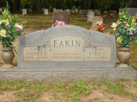 EAKIN, GEORGE ISAAC - Pope County, Arkansas   GEORGE ISAAC EAKIN - Arkansas Gravestone Photos