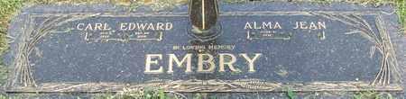 EMBRY, CARL EDWARD - Pope County, Arkansas   CARL EDWARD EMBRY - Arkansas Gravestone Photos