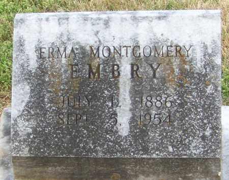 EMBRY, ERMA - Pope County, Arkansas | ERMA EMBRY - Arkansas Gravestone Photos