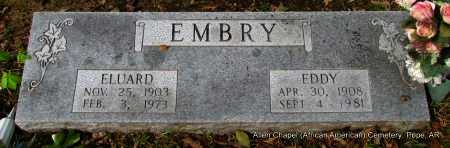 EMBRY, EDDY - Pope County, Arkansas | EDDY EMBRY - Arkansas Gravestone Photos
