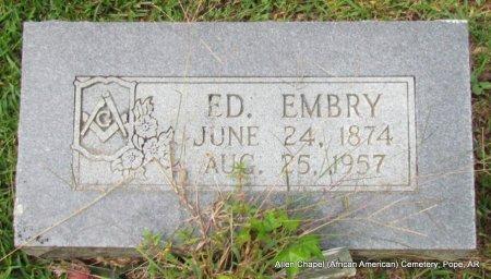 EMBRY, ED - Pope County, Arkansas | ED EMBRY - Arkansas Gravestone Photos