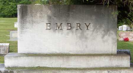 EMBRY, FAMILY MARKER - Pope County, Arkansas | FAMILY MARKER EMBRY - Arkansas Gravestone Photos