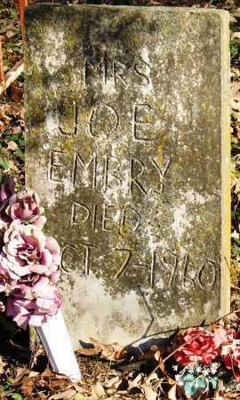 EMBRY, JOE, MRS - Pope County, Arkansas | JOE, MRS EMBRY - Arkansas Gravestone Photos