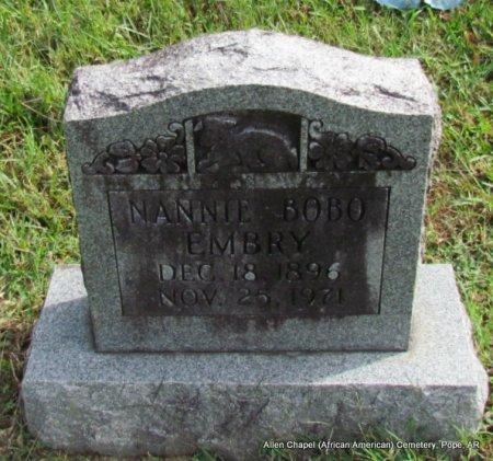EMBRY, NANNIE - Pope County, Arkansas   NANNIE EMBRY - Arkansas Gravestone Photos