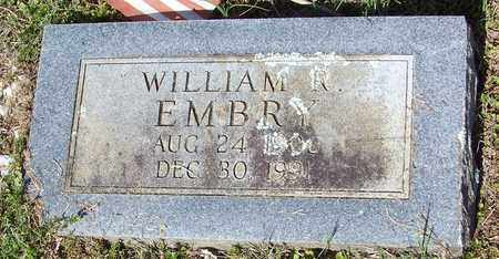 EMBRY, WILLIAM R - Pope County, Arkansas | WILLIAM R EMBRY - Arkansas Gravestone Photos