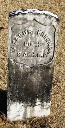 FREEMAN  (VETERAN UNION), LAZARUS - Pope County, Arkansas   LAZARUS FREEMAN  (VETERAN UNION) - Arkansas Gravestone Photos