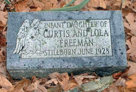 FREEMAN, INFANT DAUGHTER - Pope County, Arkansas | INFANT DAUGHTER FREEMAN - Arkansas Gravestone Photos