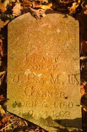 GARNER, INFANT SON - Pope County, Arkansas   INFANT SON GARNER - Arkansas Gravestone Photos
