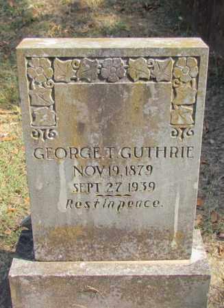 GUTHRIE, GEORGE T - Pope County, Arkansas | GEORGE T GUTHRIE - Arkansas Gravestone Photos