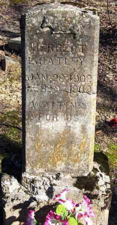HATLEY, HERBERT L - Pope County, Arkansas | HERBERT L HATLEY - Arkansas Gravestone Photos
