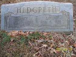 HEDGPETH, LOIS - Pope County, Arkansas | LOIS HEDGPETH - Arkansas Gravestone Photos