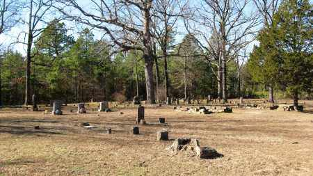 *HILLIS CEMETERY OVERVIEW 2,  - Pope County, Arkansas    *HILLIS CEMETERY OVERVIEW 2 - Arkansas Gravestone Photos