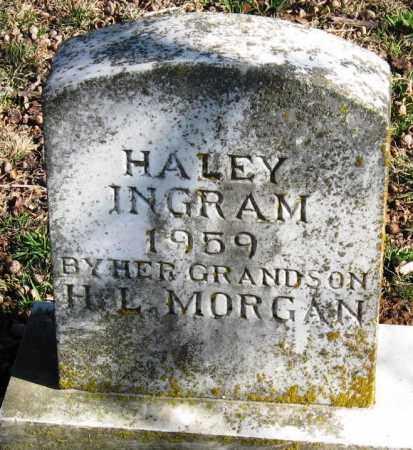 INGRAM, HALEY - Pope County, Arkansas   HALEY INGRAM - Arkansas Gravestone Photos