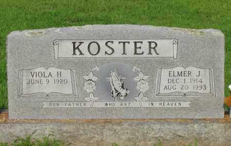 JOHNSON KOSTER, VIOLA H - Pope County, Arkansas | VIOLA H JOHNSON KOSTER - Arkansas Gravestone Photos