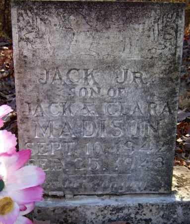 MADISON, JR, JACK - Pope County, Arkansas | JACK MADISON, JR - Arkansas Gravestone Photos