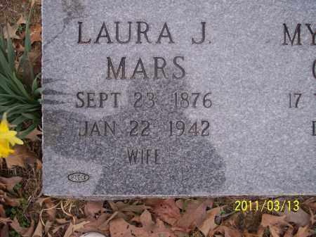 MARS, LAURA J - Pope County, Arkansas   LAURA J MARS - Arkansas Gravestone Photos