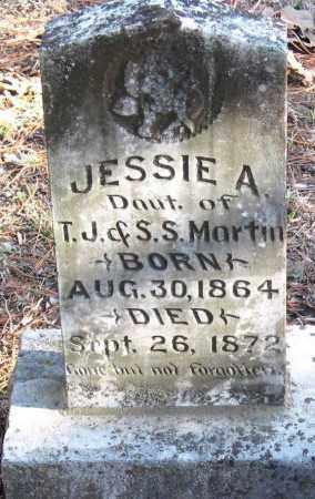 MARTIN, JESSIE A - Pope County, Arkansas   JESSIE A MARTIN - Arkansas Gravestone Photos