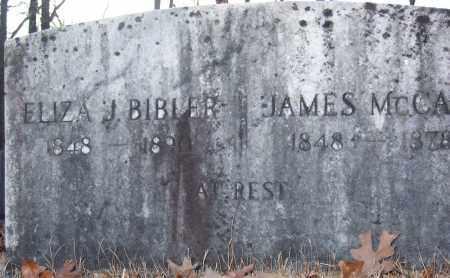 MCCAIN, JAMES - Pope County, Arkansas | JAMES MCCAIN - Arkansas Gravestone Photos