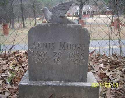 MOORE, ANNIS - Pope County, Arkansas | ANNIS MOORE - Arkansas Gravestone Photos