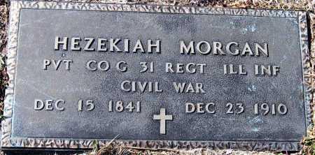MORGAN  (VETERAN UNION), HEZEKIAH - Pope County, Arkansas | HEZEKIAH MORGAN  (VETERAN UNION) - Arkansas Gravestone Photos