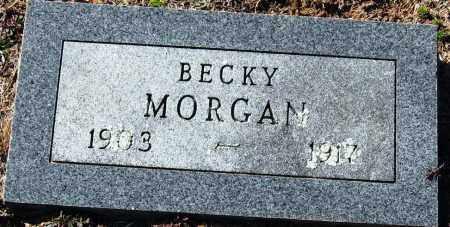 MORGAN, BECKY - Pope County, Arkansas   BECKY MORGAN - Arkansas Gravestone Photos