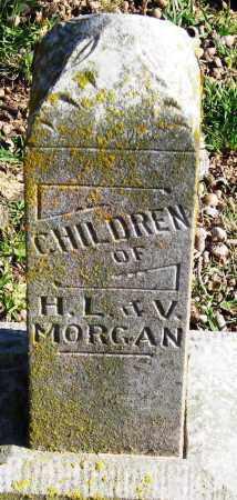 MORGAN, CHILDREN - Pope County, Arkansas   CHILDREN MORGAN - Arkansas Gravestone Photos