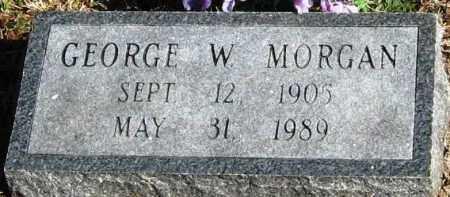 MORGAN, GEORGE W - Pope County, Arkansas | GEORGE W MORGAN - Arkansas Gravestone Photos