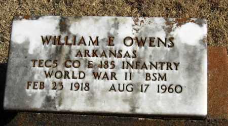 OWENS  (VETERAN WWII), WILLIAM - Pope County, Arkansas   WILLIAM OWENS  (VETERAN WWII) - Arkansas Gravestone Photos