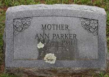 PARKER, ANN - Pope County, Arkansas   ANN PARKER - Arkansas Gravestone Photos