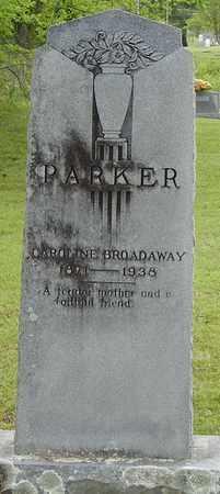 PARKER, CAROLINE - Pope County, Arkansas | CAROLINE PARKER - Arkansas Gravestone Photos