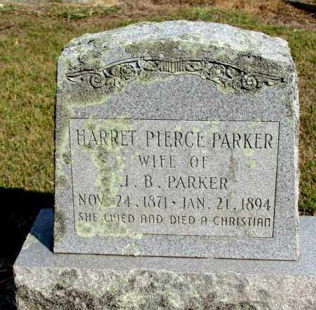 PARKER, HARRET - Pope County, Arkansas | HARRET PARKER - Arkansas Gravestone Photos