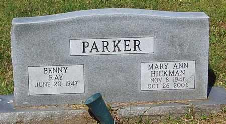 PARKER, MARY ANN - Pope County, Arkansas   MARY ANN PARKER - Arkansas Gravestone Photos