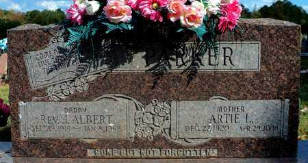 PARKER, ARTIE L. - Pope County, Arkansas | ARTIE L. PARKER - Arkansas Gravestone Photos