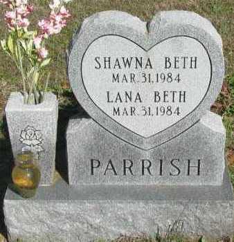 PARRISH, SHAWNA BETH - Pope County, Arkansas | SHAWNA BETH PARRISH - Arkansas Gravestone Photos