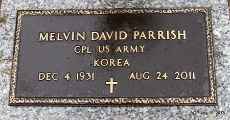 PARRISH (VETERAN KOR), MELVIN DAVID - Pope County, Arkansas | MELVIN DAVID PARRISH (VETERAN KOR) - Arkansas Gravestone Photos