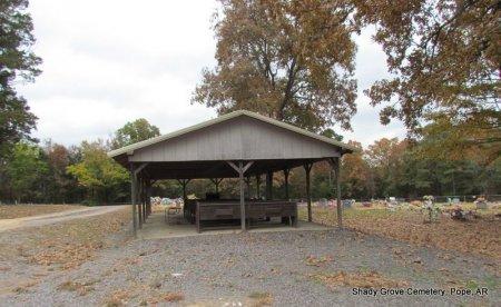 *PAVILLION OVERVIEW,  - Pope County, Arkansas |  *PAVILLION OVERVIEW - Arkansas Gravestone Photos