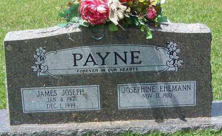PAYNE, JAMES JOSEPH - Pope County, Arkansas   JAMES JOSEPH PAYNE - Arkansas Gravestone Photos