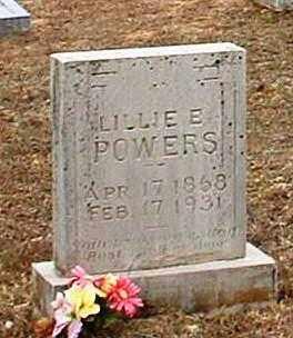 POWERS, LILLIE E - Pope County, Arkansas | LILLIE E POWERS - Arkansas Gravestone Photos