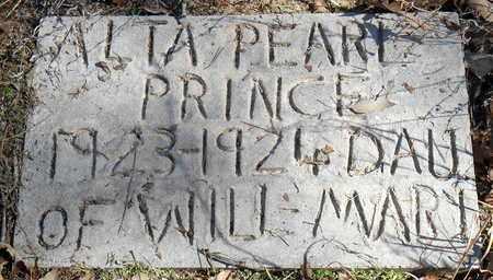 PRINCE, ALTA PEARL - Pope County, Arkansas | ALTA PEARL PRINCE - Arkansas Gravestone Photos