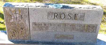 ROSE, WILLIAM FRANKLIN - Pope County, Arkansas | WILLIAM FRANKLIN ROSE - Arkansas Gravestone Photos