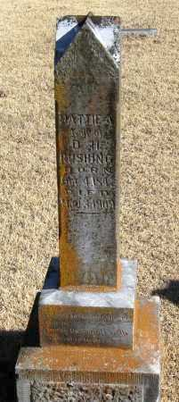 RUSHING, MATTIE A - Pope County, Arkansas   MATTIE A RUSHING - Arkansas Gravestone Photos