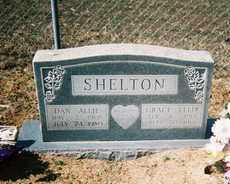 SHELTON, DAN ALLIE - Pope County, Arkansas | DAN ALLIE SHELTON - Arkansas Gravestone Photos